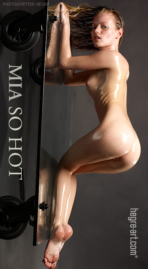 Mia - `So Hot` - by Petter Hegre for HEGRE-ART