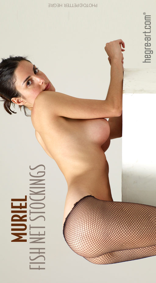 Muriel - `Fish Net Stockings` - by Petter Hegre for HEGRE-ART