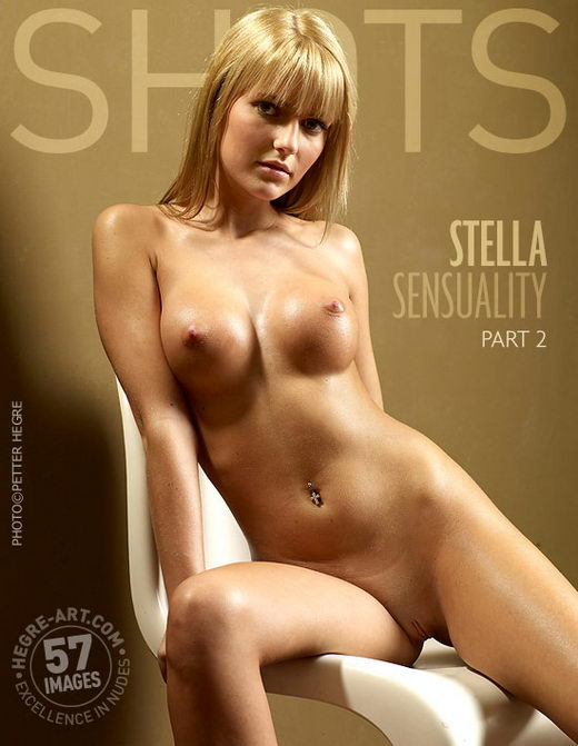 Stella - `Sensuality Part 2` - by Petter Hegre for HEGRE-ART