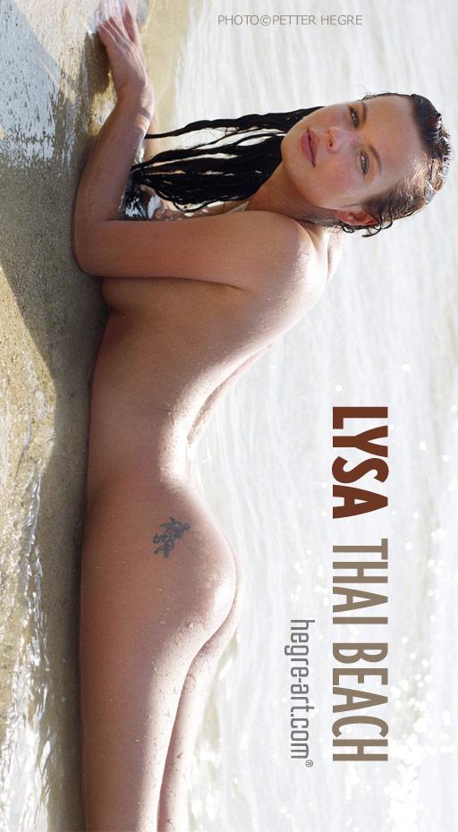Lysa - `Thai Beach` - by Petter Hegre for HEGRE-ART