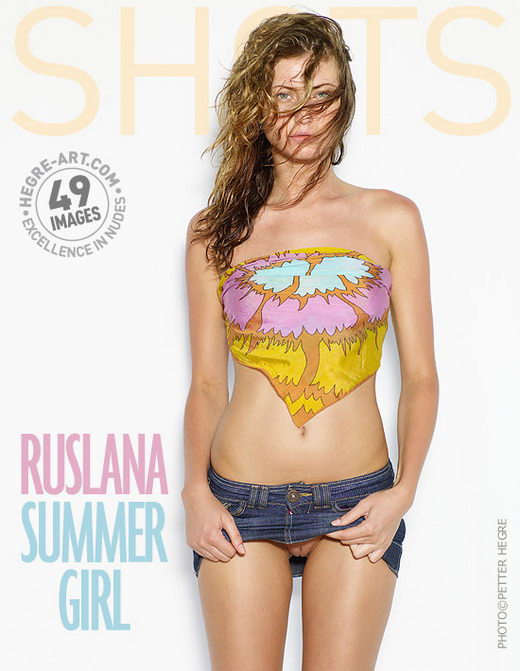 Ruslana - `Summer Girl` - by Petter Hegre for HEGRE-ART
