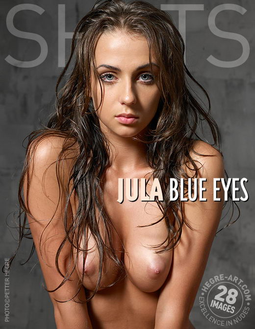 Jula - `Blue Eyes` - by Petter Hegre for HEGRE-ART