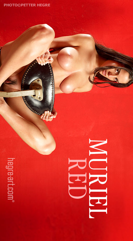 Muriel - `Red` - by Petter Hegre for HEGRE-ART