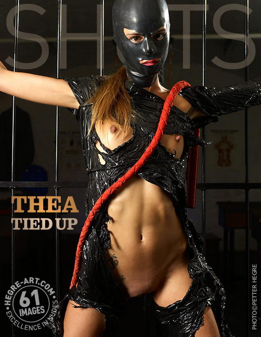 Thea - `Tied Up` - by Petter Hegre for HEGRE-ART