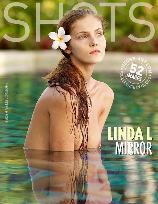 Linda L - `Mirror` - by Petter Hegre for HEGRE-ART