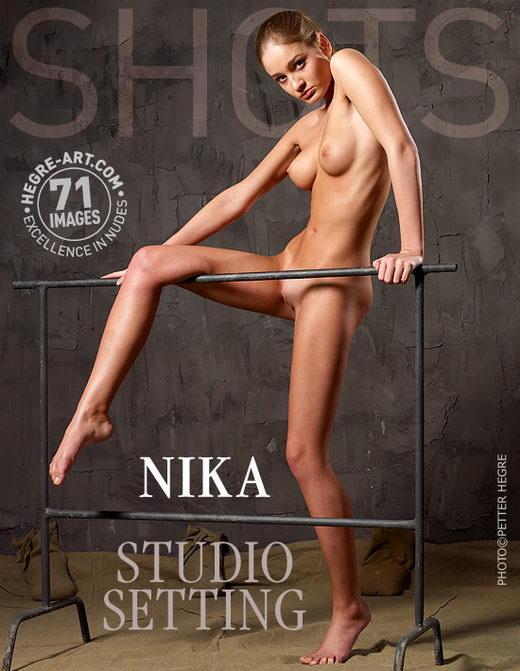 Nika - `Studio Setting` - by Petter Hegre for HEGRE-ART