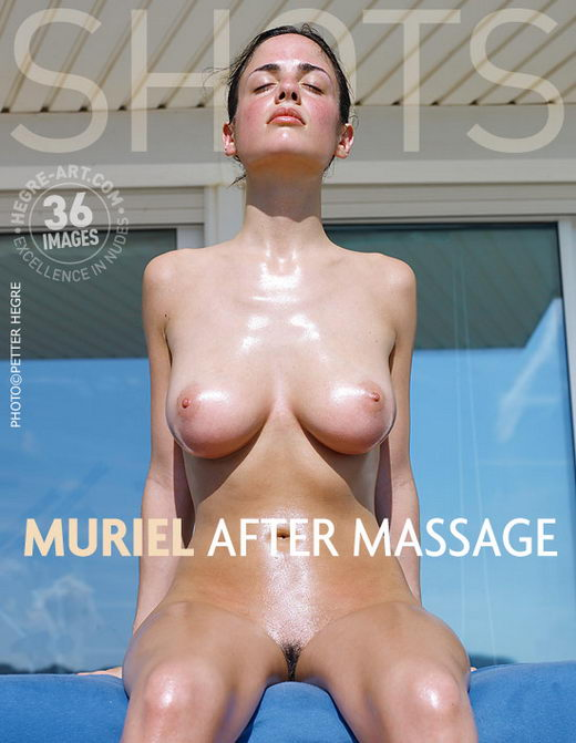 Muriel - `After Massage` - by Petter Hegre for HEGRE-ART