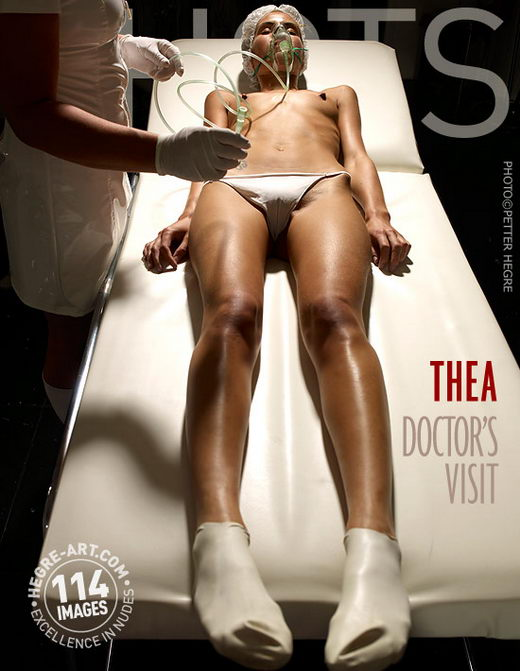 Thea - `Doctors Visit` - by Petter Hegre for HEGRE-ART