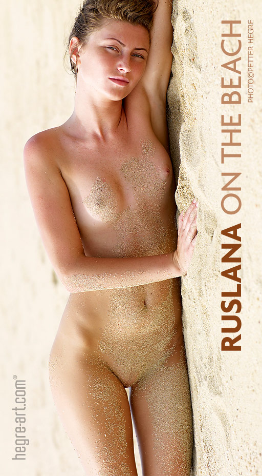 Ruslana - `On The Beach` - by Petter Hegre for HEGRE-ART