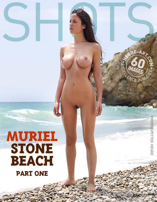 Muriel - `Stone Beach Part 1` - by Petter Hegre for HEGRE-ART