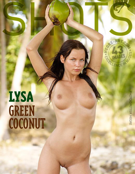 Lysa - `Green Coconut` - by Petter Hegre for HEGRE-ART