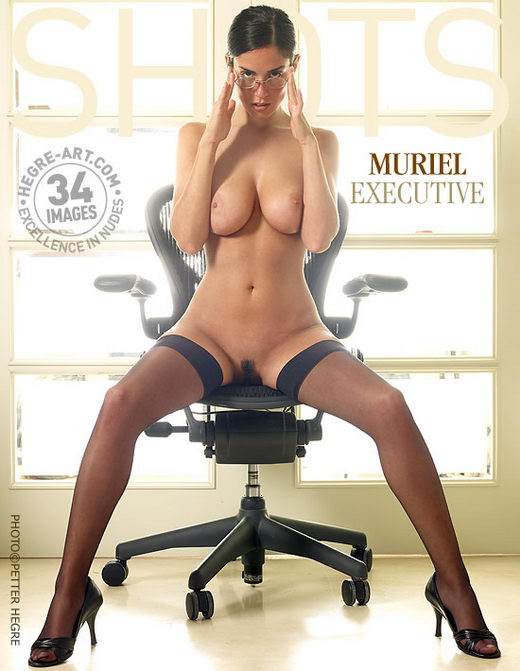 Muriel - `Executive` - by Petter Hegre for HEGRE-ART