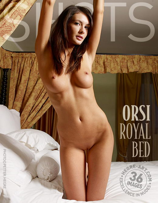 Orsi - `Royal Bed` - by Petter Hegre for HEGRE-ART