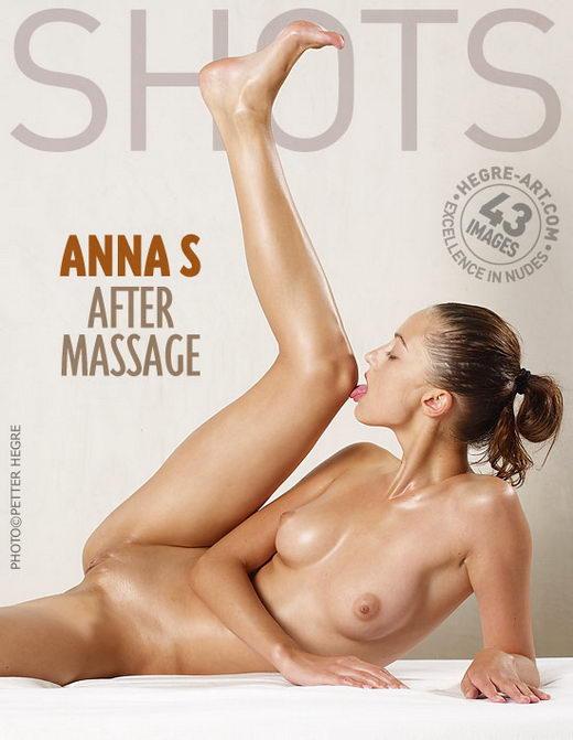 Anna S - `After Massage` - by Petter Hegre for HEGRE-ART