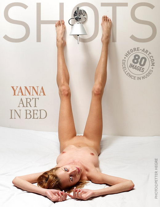 Yanna - `Art In Bed` - by Petter Hegre for HEGRE-ART