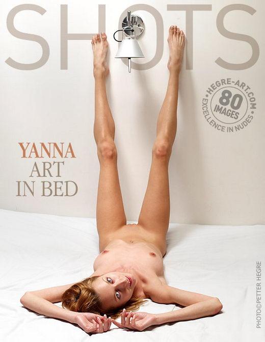 Yanna - `Art In Bed` - by Petter Hegre for HEGRE-ART