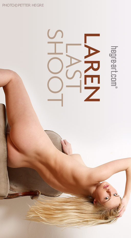 Laren - `Last Shoot` - by Petter Hegre for HEGRE-ART