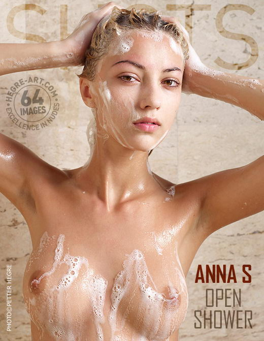 Anna S - `Open Shower` - by Petter Hegre for HEGRE-ART
