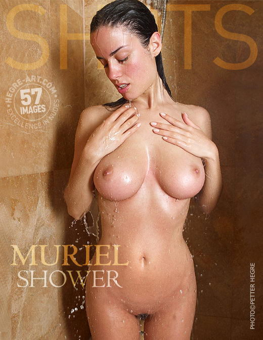 Muriel - `Shower` - by Petter Hegre for HEGRE-ART