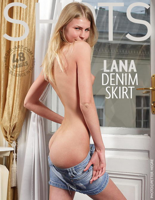 Lana - `Denim Skirt` - by Petter Hegre for HEGRE-ART