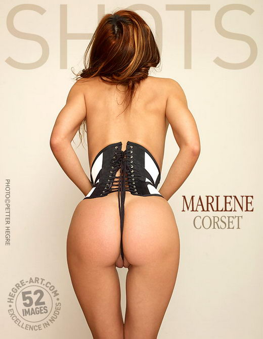 Marlene - `Corset` - by Petter Hegre for HEGRE-ART