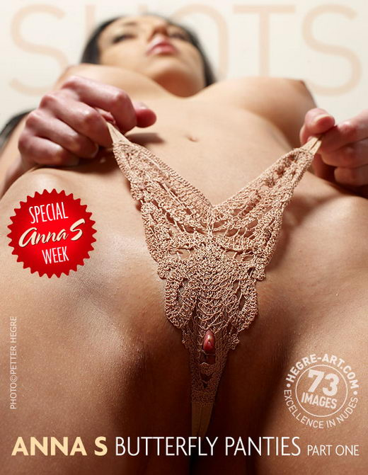 Anna S - `Butterfly Panties - Part 1` - by Petter Hegre for HEGRE-ART