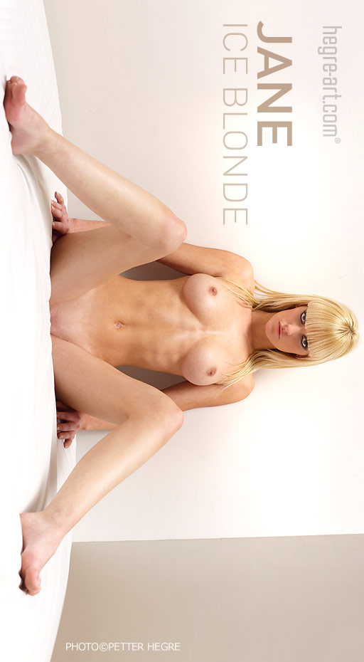 Jane - `Ice Blond` - by Petter Hegre for HEGRE-ART