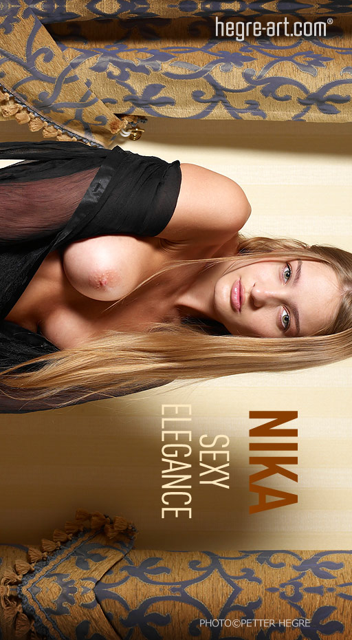 Nika - `Sexy Elegance` - by Petter Hegre for HEGRE-ART