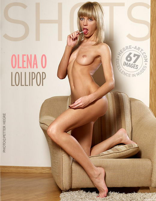 Olena O - `Lollipop` - by Petter Hegre for HEGRE-ART