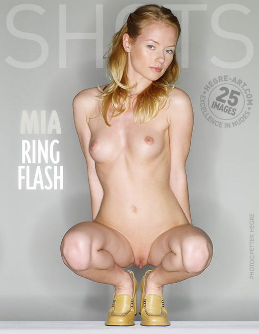Mia - `Ring Flash` - by Petter Hegre for HEGRE-ART