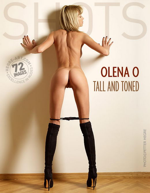 Olena O - `Tall And Toned` - by Petter Hegre for HEGRE-ART