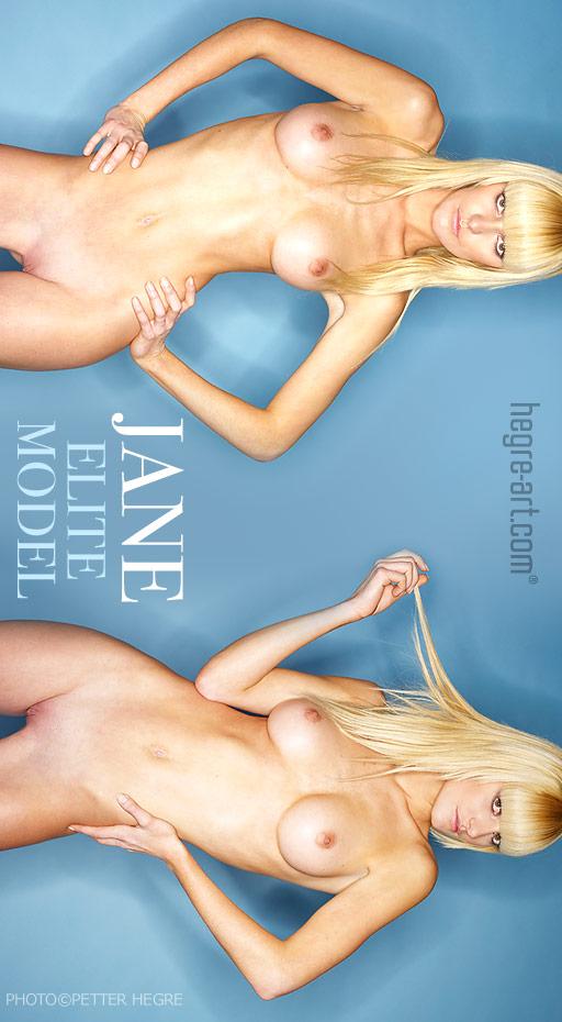 Jane - `Elite Model` - by Petter Hegre for HEGRE-ART
