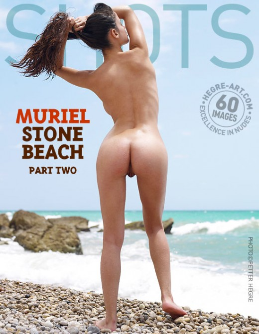 Muriel - `Stone Beach - Part 2` - by Petter Hegre for HEGRE-ART
