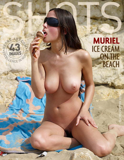 Muriel - `Ice Cream On The Beach` - by Petter Hegre for HEGRE-ART