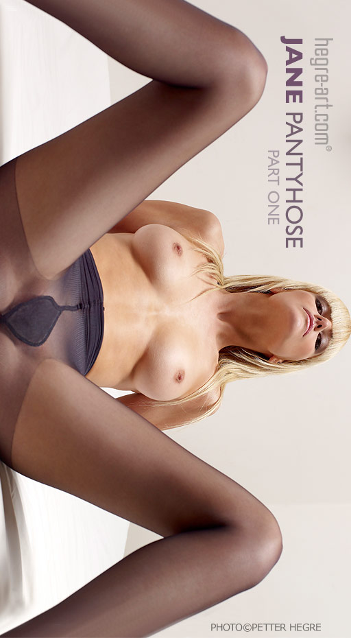 Jane - `Pantyhose Part1` - by Petter Hegre for HEGRE-ART