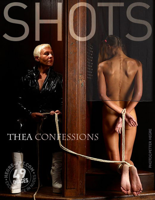 Thea - `Confessions` - by Petter Hegre for HEGRE-ART