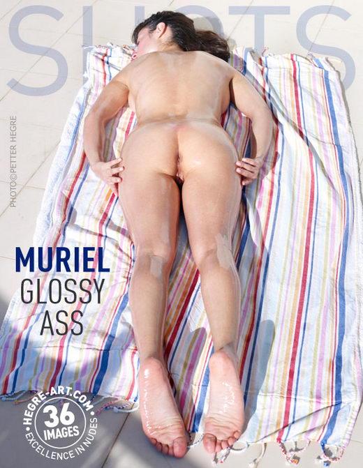 Muriel - `Glossy Ass` - by Petter Hegre for HEGRE-ART