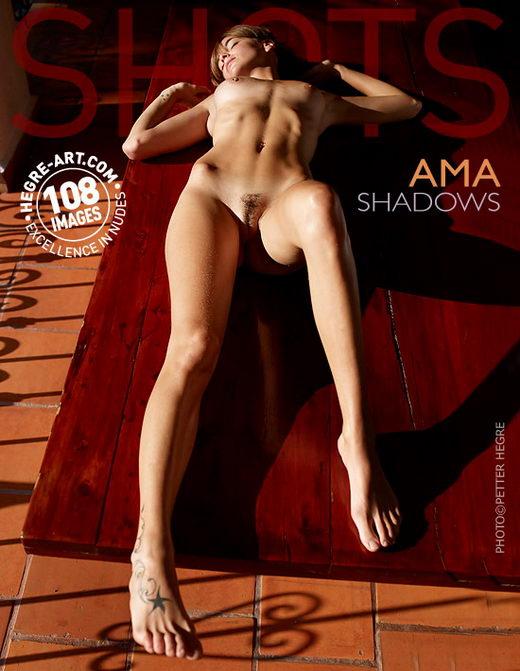 Ama - `Shadows` - by Petter Hegre for HEGRE-ART