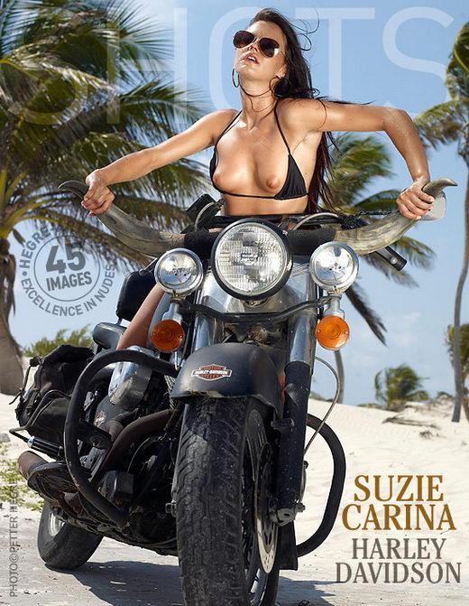 Suzie Carina - `Harley Davidson` - by Petter Hegre for HEGRE-ART