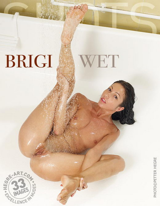 Brigi - `Wet` - by Petter Hegre for HEGRE-ART