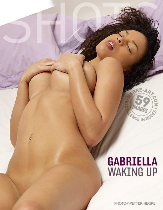 Gabriella - `Waking Up` - by Petter Hegre for HEGRE-ART