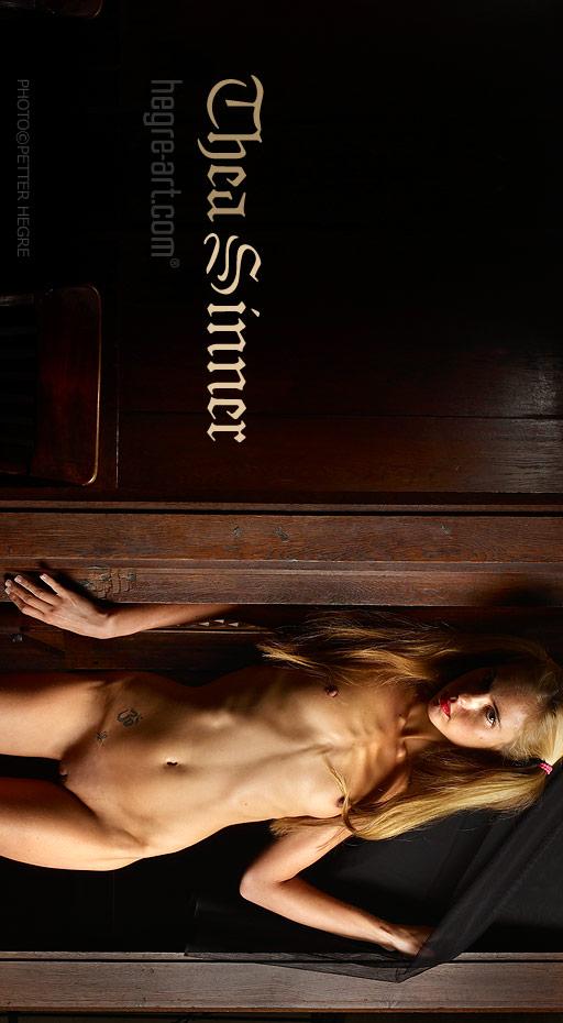 Thea - `Sinner` - by Petter Hegre for HEGRE-ART