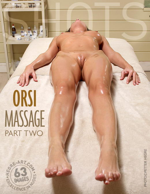 Orsi - `Massage Part2` - by Petter Hegre for HEGRE-ART
