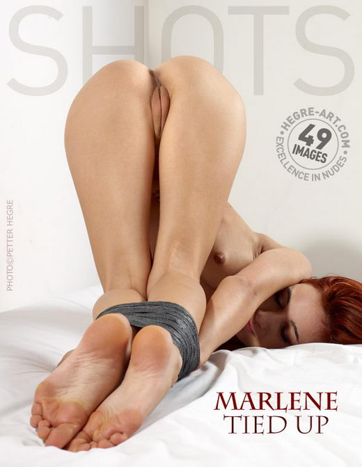 Marlene - `Tied Up` - by Petter Hegre for HEGRE-ART