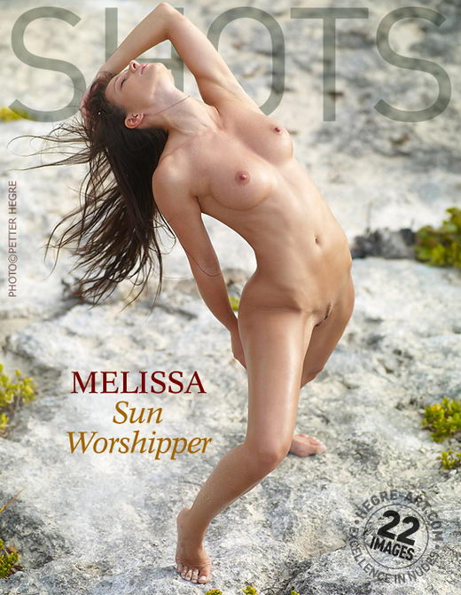 Melissa - `Sun Worshipper` - by Petter Hegre for HEGRE-ART