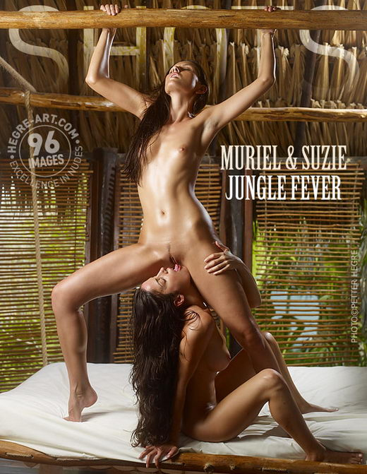 Muriel & Suzie - `Jungle Fever` - by Petter Hegre for HEGRE-ART