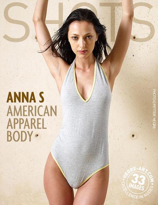 Anna S - `Samerican Apparel Body` - by Petter Hegre for HEGRE-ART