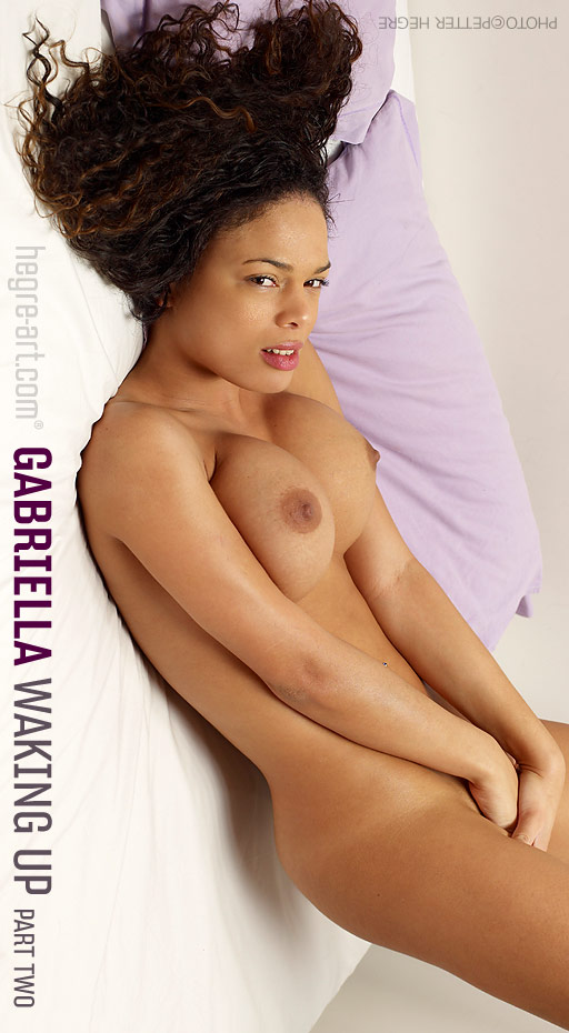 Gabriella - `Waking Up - Part 2` - by Petter Hegre for HEGRE-ART