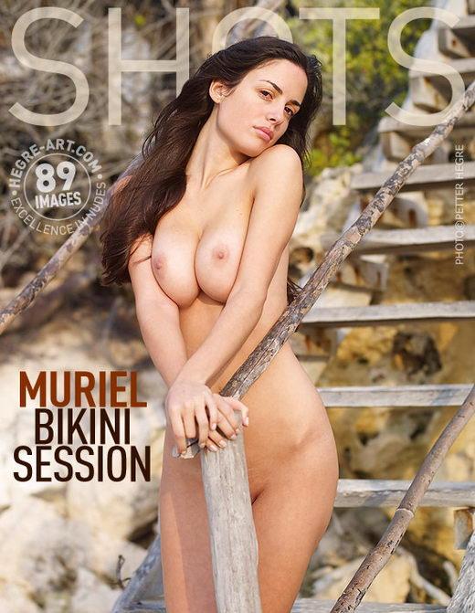 Muriel - `Bikini Session` - by Petter Hegre for HEGRE-ART