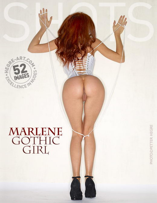 Marlene - `Gothic Girl` - by Petter Hegre for HEGRE-ART